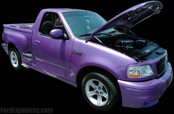 ford lightning f 150 truck information
